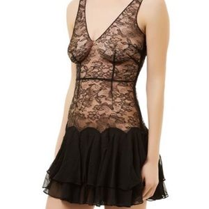 Agent Provocateur Vanessa Lace and Chiffon Dress